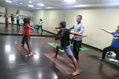 Yoga classes in Gurgaon